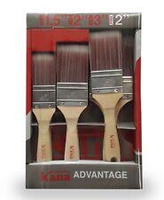 Kana Advantage Synthetic Paint Brush Set 5 pack   100% Synthetic Filaments!