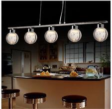 LED Pendelleuchte SD8139-05B 5x5W - Höhenverstellbare Hängeleuchte Chrom A+