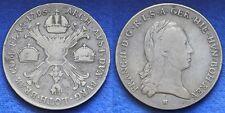 Austria Österreich  Franz II° Kronenthaler 1795 H Argento Silver #1518