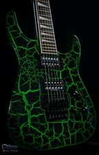 Jackson X Series Soloist SLX Green Crackle