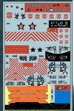 Transformers GENERACIÓN 1, G1 Autobot Protectobots REPRO Etiquetas/Pegatinas