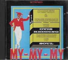Otis Redding ‎– The Otis Redding Dictionary Of Soul - Complete & Unbelievable CD
