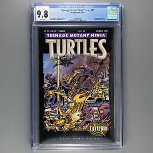 Teenage Mutant Ninja Turtles 52 1st appearance of KARAI CGC 9.8 NM/MT Low Print