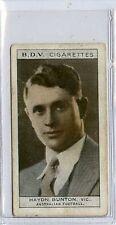 (Gs518-JB) Phillips BDV, Whos Who in Aust Sport, Bunton / Hopman 1933 G-VG