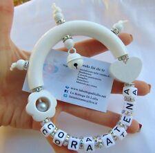 Sonaglino personalizzabile con nome BAMBINA Battesimo bomboniera idea regalo