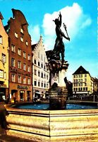 Augsburg , Merkurbrunnen ,  Ansichtskarte, ungelaufen