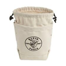 Klein Tools Small Parts Tool Bag Pouch Storage Organizer Tote Fabric Canvas New