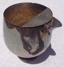 Bowl Brandy Ice Lip 6� Tall Barware Silverplate