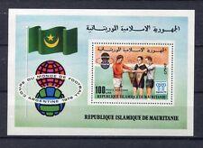 s5395) MAURITANIE 1978 MNH** W.C. Football - Campionati del Mondo Calcio S/S