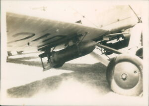 RAF Ops Shamozai Tribes 1932 Hawker hart 230 Lb Demolition Bomb Original photo
