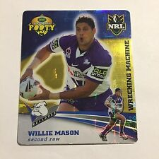 NRL Tazo Canterbury Bulldogs Willie Mason