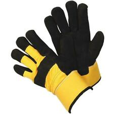Mens Gardening Gloves Rigger Work Gloves Thermal Tough Leather Protection XL