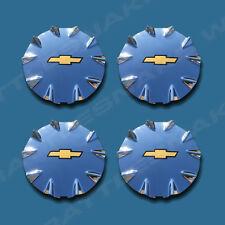 Chevrolet SSR chrome wheel center caps hubcaps 2003-2006 front/rear set of 4