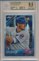 2015 Topps Chrome Kris Bryant Prism Refractors RC #112 BGS 9.5 Cubs #7841