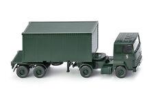 Wiking 069624 semirremolque para Container ( Ford Transcontinental) BRIGADE