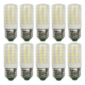 10x E27/E26 LED Light Bulb 66-5730 Ceramics Corn Lights 110-265V Equivalent 100W