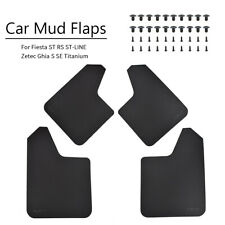 Mudguards Mud Flaps Splash Guards For Ford Fiesta ST Blue MK6 MK6.5 Mk7.5 MK8