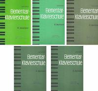 Berühmte Elementar Klavierschule op.222 - Heft 1, 2, 3, 4 oder 5