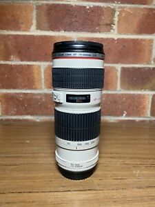 Canon EF 70-200mm f/4L IS USM Original Packing  Camera Lens