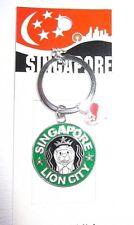Singapore Lion City Schlüsselanhänger Keychain NEU (A8.1)