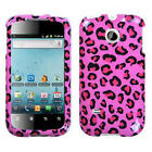 For Huawei Ascend II 2 M865 Protector Hard Case Snap on Phone Cover Pink Cheetah