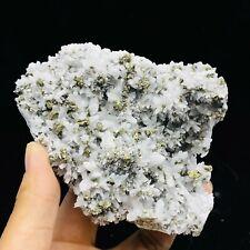 Chalcopyrite Natural Quartz Crystal Cluster Mineral Specimens Healing 520g