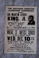 Dr Martin Luther King Jr Political poster 1958 The Southern Christian Leader