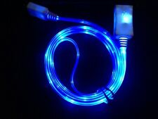 3FT Apple USB iPhone 7/6s/6/5 LED Data Sync Light Up Noodle Charger Cable