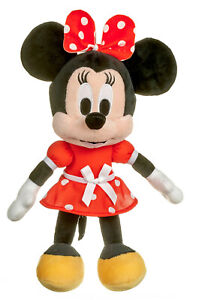"""NEW OFFICIAL DISNEY 15"""" MINNIE MOUSE SOFT PLUSH TOY MICKEY MOUSE"""