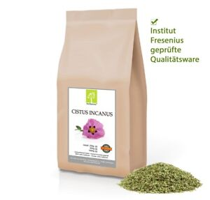 1 kg Cistus Incanus Tee Zistrose Zistrosenkraut Fresenius geprüfte Top Qualität