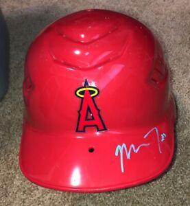 Mike Trout rookie Autographed  batting helmet