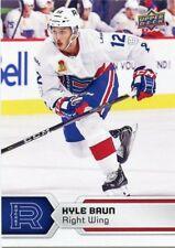 17/18 UPPER DECK AHL #92 KYLE BAUN LAVAL ROCKET *47840