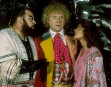 Colin Baker, Brian Blessed & Nicola Bryant UNSIGNED photo - H8061 - Doctor Who