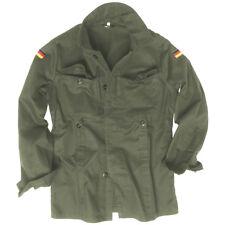 Mil-tec chaqueta corta Molesquín hombre Ejército Alemán seguridad Algodón L oliva
