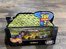 Hot Wheels Disney Pixar Toy Story 2 Target Exclusive Nascar 2000 3 Car Set NIB