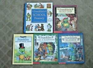 LOT of 5 Franklin's Franklin Readers Picture Books Storybook Collection