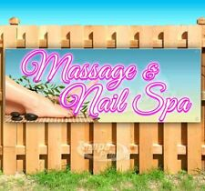 Message And Nail Spa Advertising Vinyl Banner Flag Sign Many Sizes