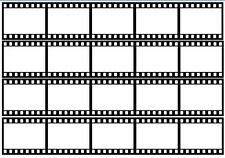 Novelty Blank Film Strip A4 Edible Icing Cake Strips/Ribbon CAN INSERT OWN IMAGE