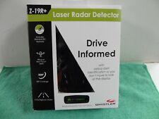Whistler Z-19R+ Drive Informed High Performance Bilingual Radar Laser Detector