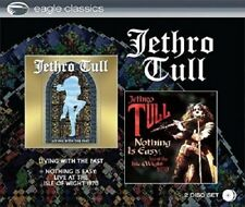 Jethro Tull Living With The Past/Nothing Is Easy-Live 1970 2-CD NEW SEALED