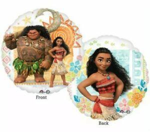 """Disney Moana Maui Birthday Party Decorations Mylar Foil Balloon 17"""""""