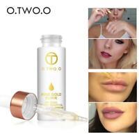 Womens 24k Rose Gold Skin Make Up Oil Face Essential Primer Foundation Tool