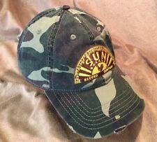 Sun Record Company Hat Baseball Cap Memphis Rooster Adjustable Camouflage EUC