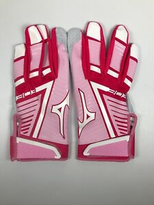 Mizuno Pink 303 Mother's Day Batting Gloves New Size Large