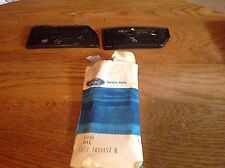 1981 1989 FORD ESCORT WAGON LUGGAGE CARRIER SUPPORT PADS - NEW OEM PAIR