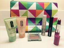 Clinique Sealed Bag W Eye Shadow Blush Compact Mascara Repair Serum Lipstick