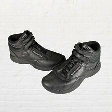 Reebok Classic Freestyle Hi High Top Sneakers Women's Size 8.5 Black