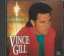Music CD Vince Gill Let There Be Peace On Earth