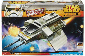 Star Wars A8818 - The Phantom Attack Shuttle - Hasbro ** GREAT GIFT **