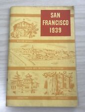 SAN FRANCISCO 1939 Invitation to Golden Gate International Exposition & CA Illus